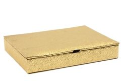 Gold box Stock Photos