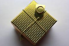 Gold box Stock Photos