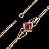 Gold bracelet Stock Photos