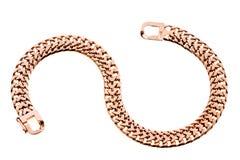 Gold bracelet Stock Photography