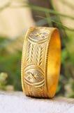 Gold Bracelet Jewellery Royalty Free Stock Photo