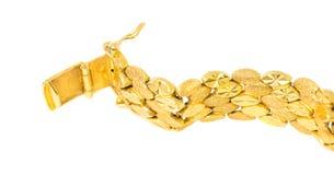 Gold Bracelet VI Royalty Free Stock Photos