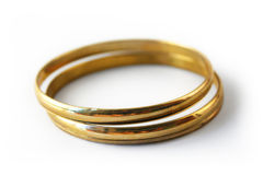 Gold Bracelets 3 Stock Images