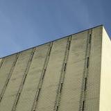 Gold brick building Stock Photos