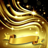 Gold Bright Background Royalty Free Stock Photo