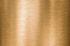 Gold, bronze or copper metal brushed texture stock photography