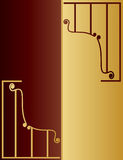 Gold and brown Stock Photo