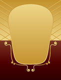 Gold and brown royalty free stock photo