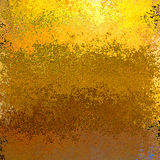 Gold and brown abstract rusty flaking background Royalty Free Stock Photos
