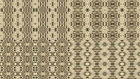 Gold, brown, black colors tapestry. Graphic pattern. Vector EPS. Royalty Free Stock Photos
