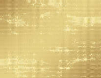 Gold brown halftone background Royalty Free Stock Photos