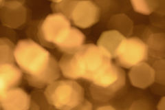 Gold and Brown holiday bokeh background Stock Image