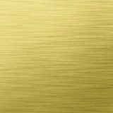 Gold Brushed Steel Metal Texture Stock Image