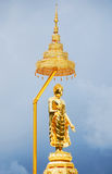 Gold budda Royalty Free Stock Photo