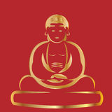 Gold buddha Stock Photos