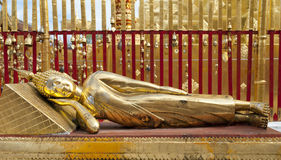 Gold Buddha Lizenzfreies Stockbild