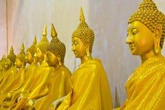 Gold Buddha Stock Photo