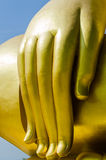Gold Buddha. Buddha in Thai temple thailand Stock Photography