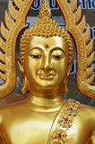 The gold buddha Royalty Free Stock Image