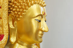 The gold buddha Stock Image