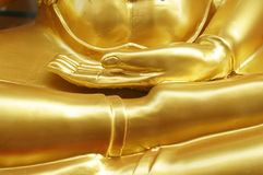 The gold buddha Royalty Free Stock Images