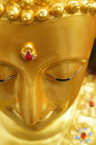 The gold buddha Stock Images