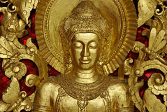 Gold Buddha. Royalty Free Stock Image