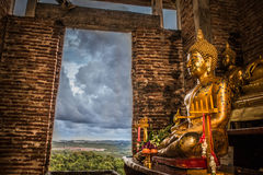 Gold Buddha Royalty Free Stock Photos