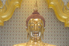 Gold buddha stock photo