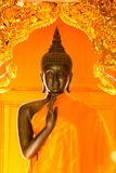 Gold Buddha. Royalty Free Stock Photo