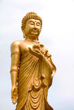 Gold buddha Stock Photography