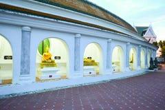 Gold buddha image Royalty Free Stock Image