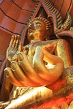 The Gold Buddha Image , Thailland Royalty Free Stock Photography