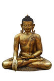 Gold buddha statue royalty free stock photo