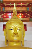 Gold Buddha statue. This is Gold Buddha statue in Supanburi,Thailand.This Buddha called Luang Pho To Royalty Free Stock Images