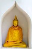 Gold-Buddha-Statue Stockfoto