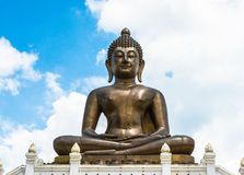 Gold Buddha statue Royalty Free Stock Image