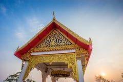 Gold buddha statue at Pattaya Thailand Stock Images