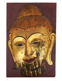 Gold Buddha. A statue of the Buddha from Thailand Royalty Free Stock Image