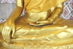 Gold Buddha statues Royalty Free Stock Photo