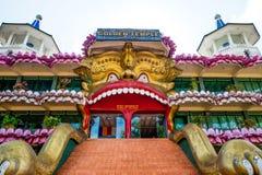 Gold-Buddha-Tempel, Dambulla, Sri Lanka Stockbild
