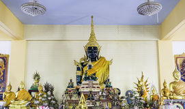 Gold buddha in temple at thailand Stock Photos