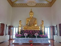Gold Buddharupa Royalty Free Stock Photo