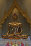 Gold-budha Stockbild