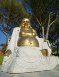 Gold budha Statue Royalty Free Stock Images