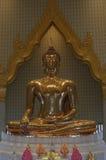 Gold budha. Statue gold budha Stock Image