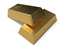 Gold bullion Royalty Free Stock Image