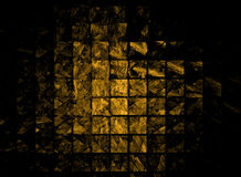 Gold bullion abstract Stock Image