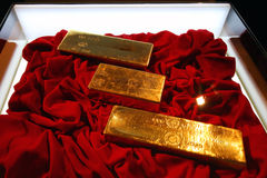 Gold Bullion Royalty Free Stock Images