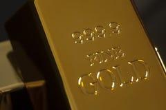 Gold bullion Stock Photos